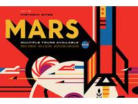 NASA親自推出太空旅行懷舊海報