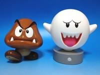 Kisplay/馬力歐系列超可愛蘑菇人 喇叭與Boo觸控燈