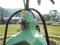 宜蘭綠博會用「消波塊」佈展 顏寬恒大方答應擇日參觀