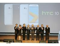 五大電信齊推 HTC 10!中華電林國豐:5吋機是完美比例