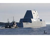 隱形軍艦太隱形 美國「朱瓦特」級海上竄出嚇傻漁民