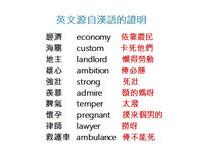 「撲來個男的」就「懷孕」? 10個英文源自漢語的證明