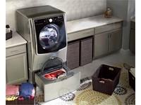 可用手機監控洗衣流程的LG TWIN Wash雙胞胎洗衣機登台