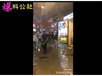 西門町連鎖蛋塔店遭砸 逛街民眾嚇壞:是否該有鞭刑?