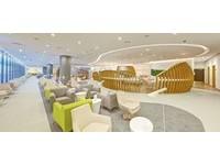電子畫廊和生態牆 天合聯盟新貴賓室杜拜啟用