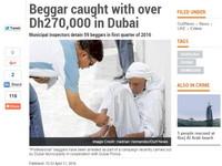 杜拜乞丐真好賺!平均月入238萬 網友笑:快買機票