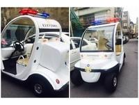 呼叫「哈茱蒂」警官!社區巡邏車時速25km 網:安心犯案了
