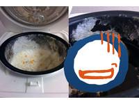 擺了2個月!他把飯忘在電鍋 長出不只菌絲的噁爛東西