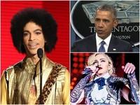 歐巴馬、瑪丹娜悼念Prince王子 「沒有他做不到的事」