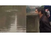 小偷被追跳進河 百人圍觀沒人想救 網友:冷血!