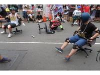 辦公椅賽車6月台北舉行!網友:想知道第一名椅子哪買
