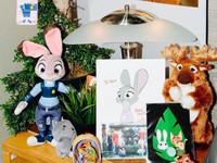 迪士尼官方IG大方出賣《動物方城市》動畫師辦公桌擺設