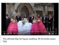 63公斤「水晶婚紗」比新娘還重 美到把新郎擠到角落