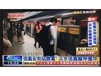 快訊/供電異常狀況排除 北捷全線恢復正常營運