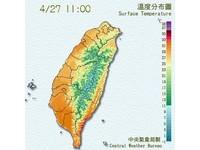 台東大武35.7度破今年高溫紀錄 氣象局:易有焚風發生