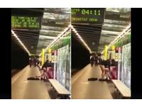 西班牙車站驚傳「無我活春宮」 情侶長凳%%%惹眾怒!