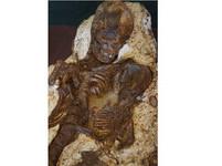 母抱寶寶深情凝視5000年 台中最古老人類化石發現