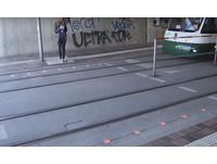 德國設「地面紅綠燈」 低頭族過馬路免抬頭