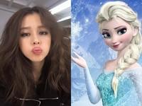 徐若瑄為繼女展超強手技! 絕美造型激似《冰雪》Elsa
