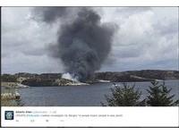 飛往北海油田遇事故 直升機墜毀挪威外海14人尚未尋獲