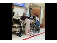 台大醫院急診室這張照片 5萬網友感動:辛苦了白衣天使!