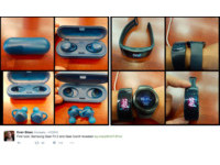 三星Gear Fit 2運動手環、Gear IconX藍牙耳機諜照曝光