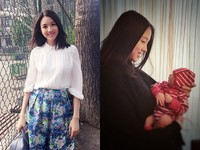 世界小姐女兒正面照曝光 出生14天被封「嬰兒界超模」