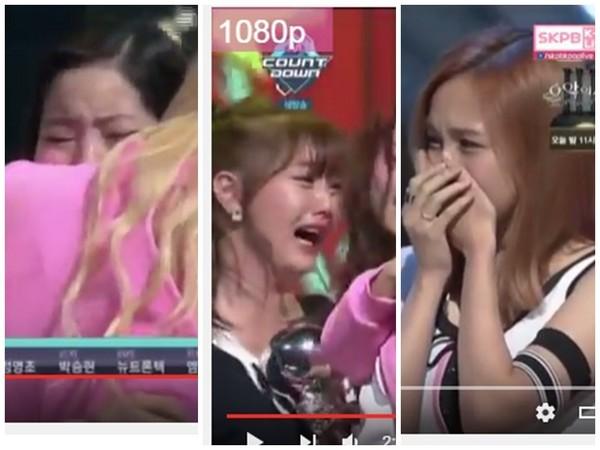 TWICE奪冠台上哭到崩潰! Somi「天使舉動」給溫暖