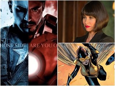 《美國隊長3》原本有黃蜂女 編劇忍痛放棄2位超級英雄