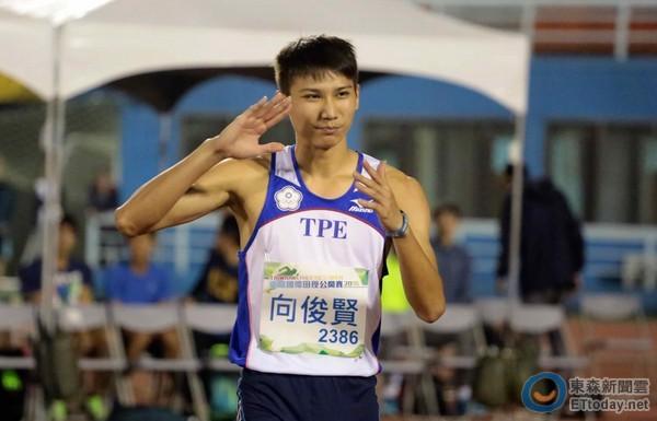 台灣跳最高的男人向俊賢奧運首戰...