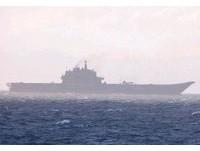 大陸航母二次試航 和艦載機「殲15 」首次合體