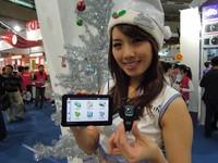 100資訊月25正妹推薦聖誕熱銷品 台中另闢3C戰局