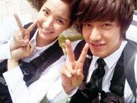 李敏鎬和朴敏英好友變情人 宛如韓國真人版大仁、又青