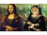 當蒙娜麗莎變成一隻貓?賣萌喵星人世界名畫大集合