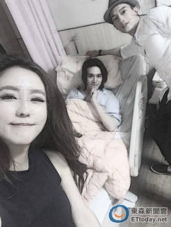ETtoday-2016年6月17日-陳楚河受傷後露微笑首發文合體《愛上哥們》演員