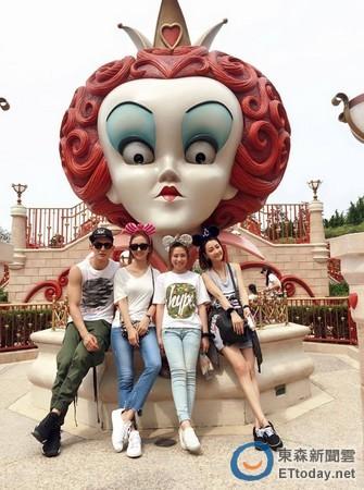 ETtoday-2016年6月21日-周曉涵圓夢!《十七歲》合體迪士尼 謝欣穎美腿吸睛