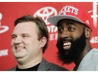 NBA/5年8000萬美金新合約入袋 哈登狂飆37分回禮