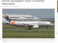 捷星航班迫降上海 乘客怕被棄挾持機師