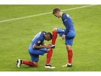 歐國盃/法國5比2轟垮冰島 三將搶拿金靴獎