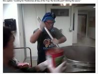 MLB/關懷無家可歸之人 光芒教頭成愛心廚師