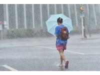 南投山區風雨漸強 仁愛鄉10時宣布停止上班、上課