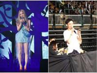 粉絲賺到!青峰串場主持人 台下對唱張韶涵《藍眼睛》