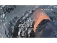 南灣漂墨汁廢水「泡10分就癢」 墾管處、核三廠:數據正常