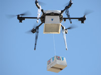 無人機運送貨計畫 有可能最先使用在「歡樂送」
