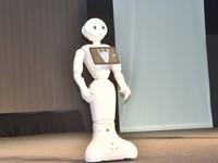 機器人Pepper登台「面試」賣萌!薪資一個月要價26K