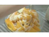 吃剉冰就是要加煉乳? 芒果雪花冰糖份=45顆方糖!