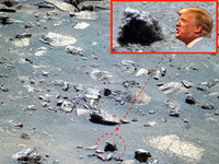 火星奇岩可預測下一屆美總統?照片揭當選人是「川普」