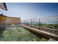 日本岡山鷲羽山「最美飯店」 可以邊看瀨戶內海邊泡湯