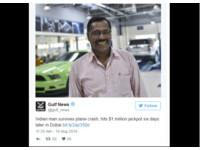 躲過空難又中「3千萬現金」 印度男:我要去幫更多人