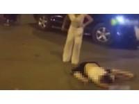 高速撞飛無辜男「對折」身亡! 女三寶下車竟對屍體熱舞